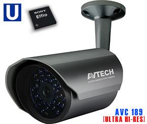 Ultra High Resolution Camera AVTECH AVC 189