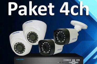Paket Murah CCTV 4 Ch Calion Smart Camera
