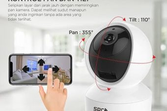 CCTV Wifi Ip Camera SPC Super Series Babycam 720P